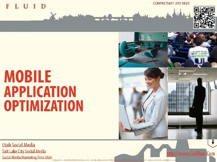 Utah Social Media - Mobile Application Optimization