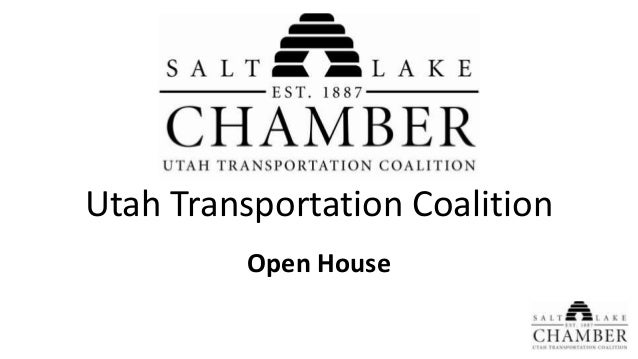 Utah Transportation Coalition Open House