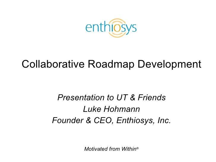 Collaborative Roadmapping
