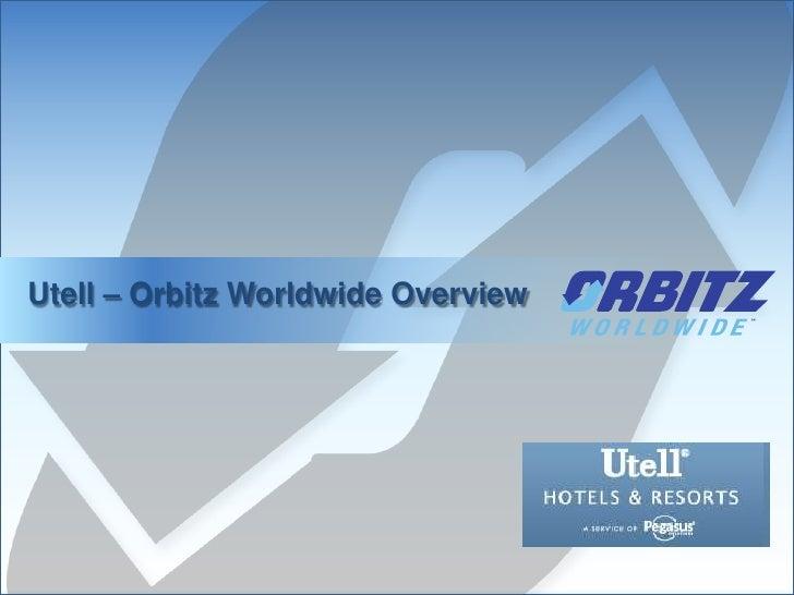 Utell orbitz webex v2