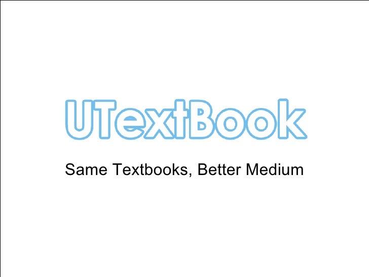 Utextbook