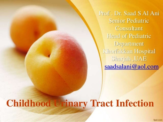 presentation on urinary tract infection uti reflection Define uti ( urinary tract infection) a urinary tract infection (uti) is an infection in any part of your urinary system — your kidneys, ureters, bladder and urethra most infections involve the lower urinary tract — the bladder and the urethra.