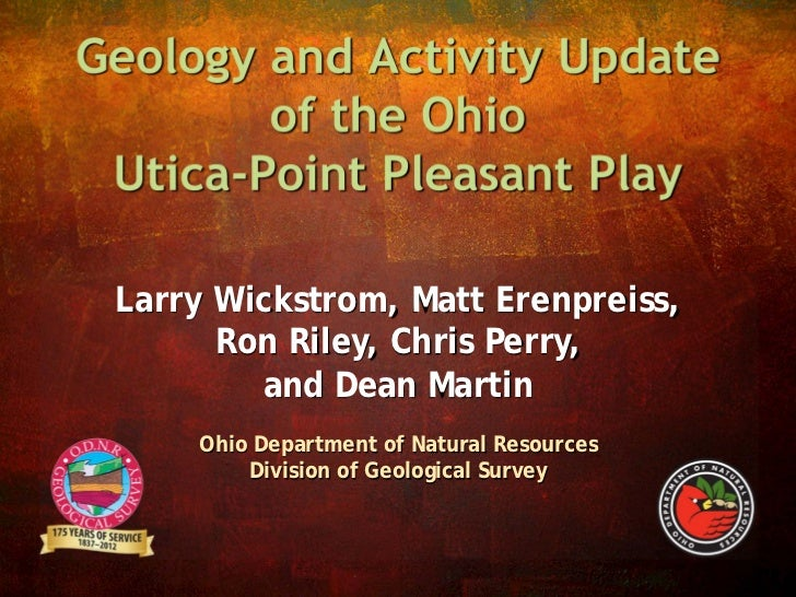 Geology and Activity Update of the Ohio Utica-Point Pleasant Play