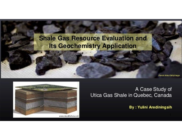 Shale Gas Resource Evaluation and   Its Geochemistry Application                                                          ...