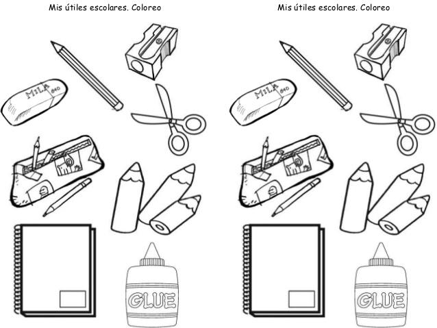 Imagenes utiles escolares para pintar - Imagui