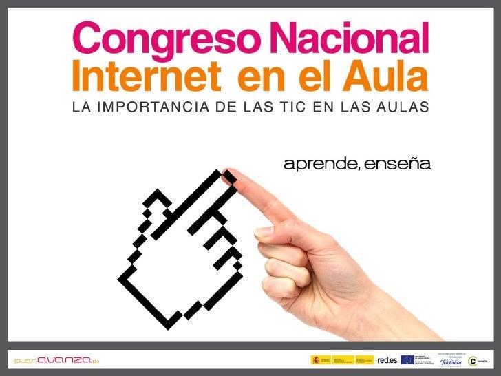 Decroly en el congreso Internet en el Aula