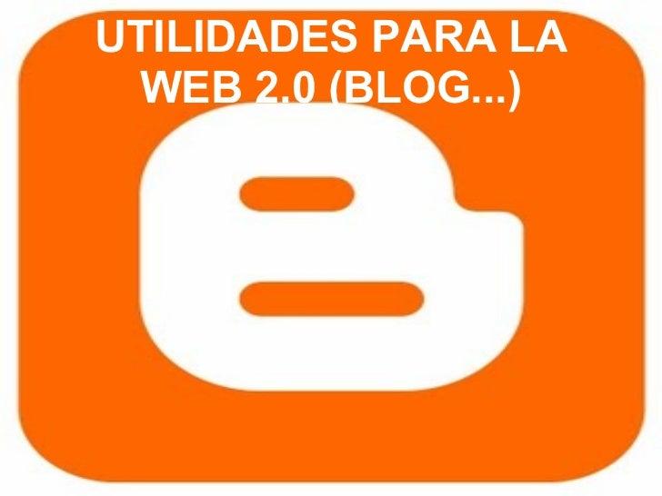 Utilidades para la web2.0