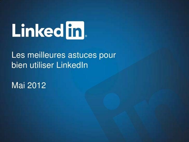 Optimisez votre profil LinkedIn