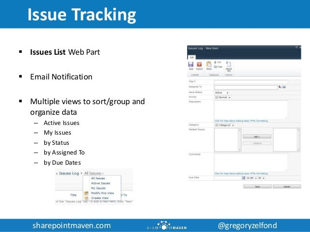 sharepoint project tracking template - utilizing sharepoint for project management