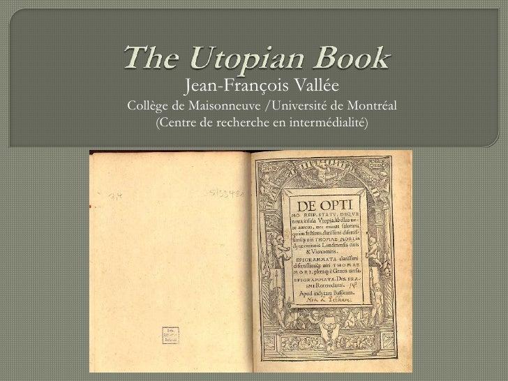 The Utopian book