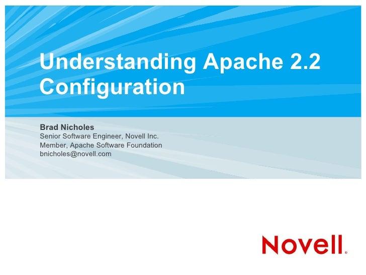 Utosc2007_Apache_Configuration.ppt