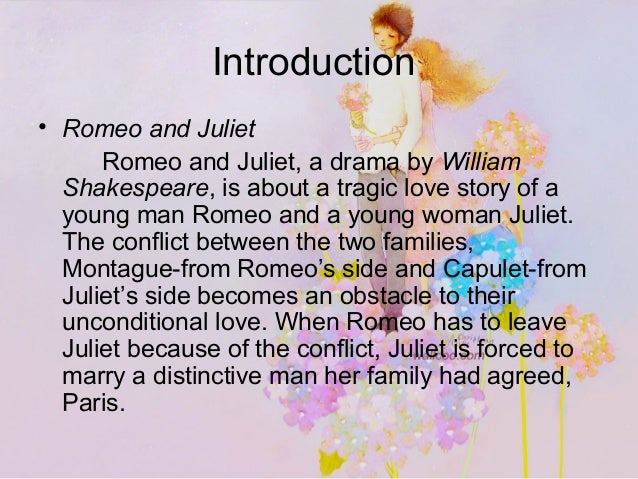 romeo and juliet presentation essay