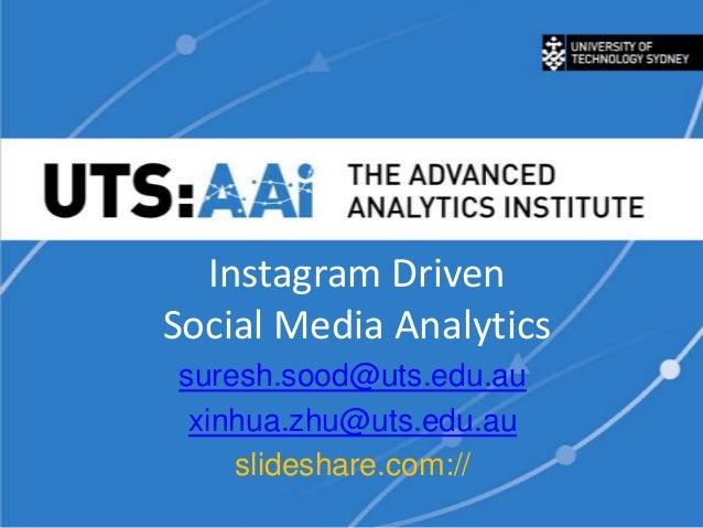 Instagram Social Media Analytics