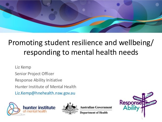 Promote the well-being and resilience of children and young people Essay Sample