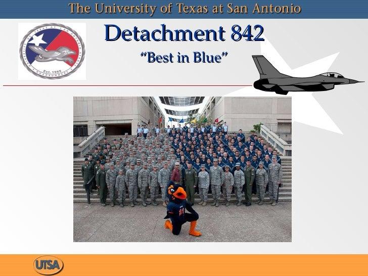 "Detachment 842 ""Best in Blue"""