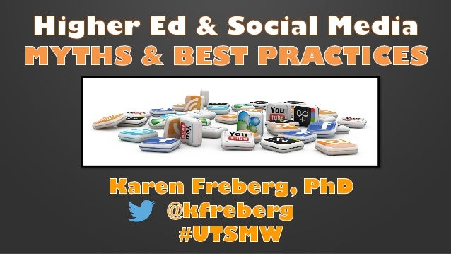 Ut social media week [freberg]