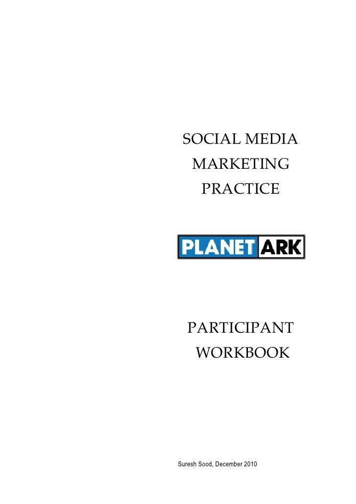 Uts participant workbook smmp for planet ark