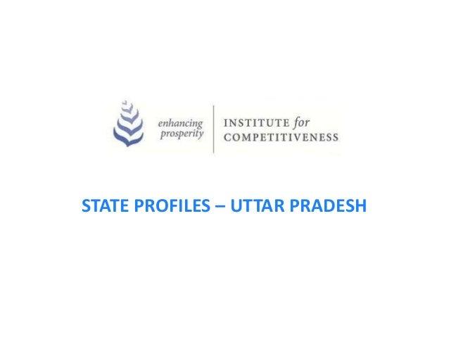 STATE PROFILES – UTTAR PRADESH
