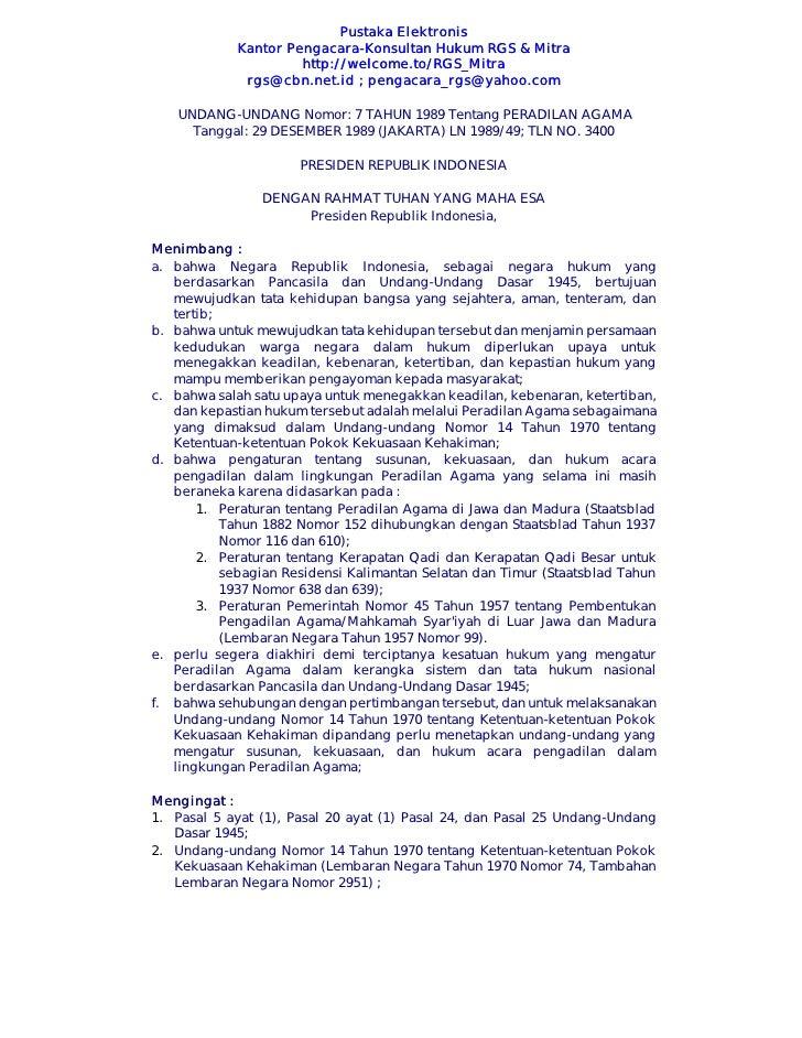 Pustaka Elektronis                                    Elektr onis             Kantor Pengacara-Konsultan Hukum RGS & Mitra...