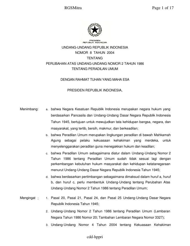 RGSMitra                                                Page 1 of 17                              UNDANG-UNDANG REPUBLIK I...