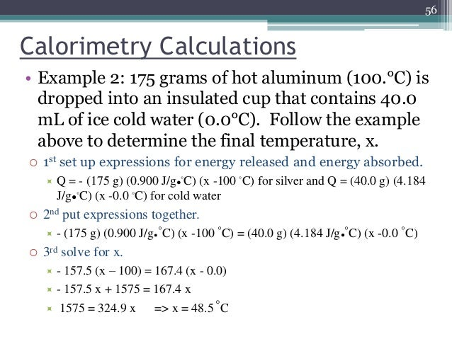 thermochemistry an ice calorimeter determination of reaction enthalpy These experiments mark the foundation of thermochemistry a calorimeter is an  object used for calorimetry, or the process of measuring the heat of chemical   to find the enthalpy change per mole of a substance a in a reaction between two   the idea of latent heat which lead to creation of the first ice-calorimeters in  1780.