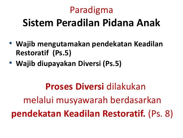 tesis tentang sistem peradilan pidana Sistem peradilan pidana terpadu adalah bagian yang tak terpisahkan dari sistem penegakan hukum dalam sistem peradilan pidana terdapat empat sub-sistem yakni: (1) kepolisian (2) kejaksaan (3) pengadilan (4) lembaga pemasyarakatan.