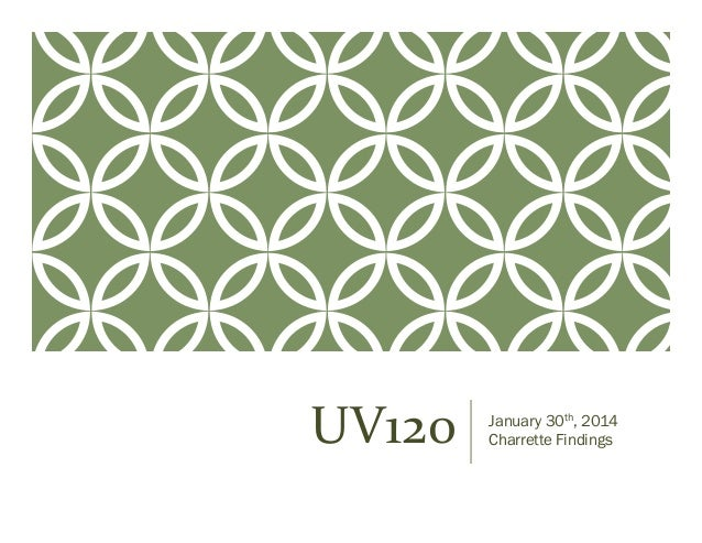 UV120 Findings Report from March 5th 2014