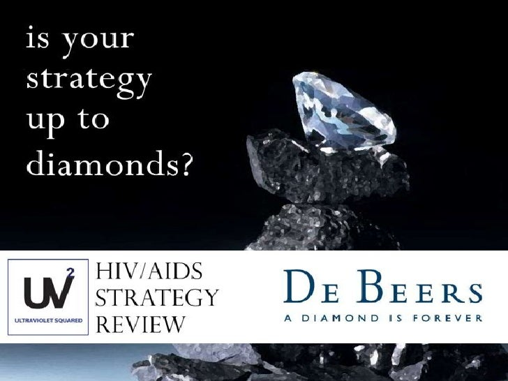 UltraViolet Squared - De Beers - An Analytical Presentation