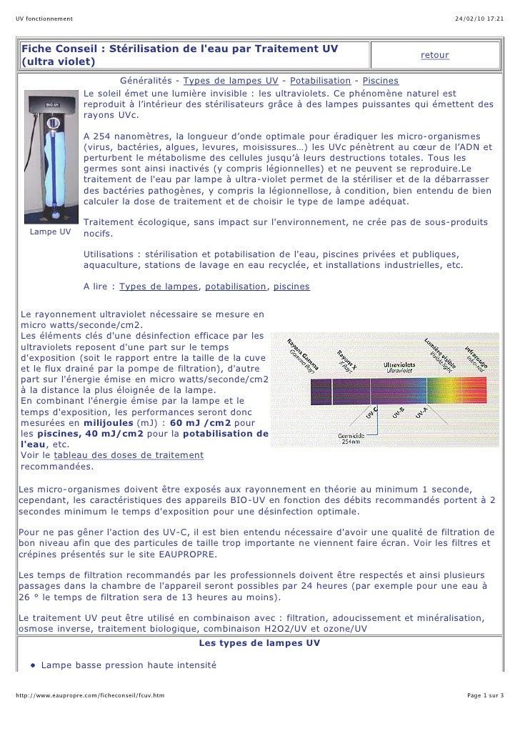 UV fonctionnement                                                                                         24/02/10 17:21  ...