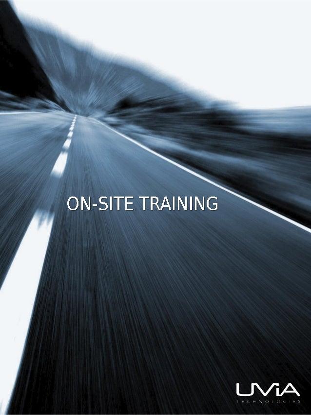 UVIA Technologies On-Site Training