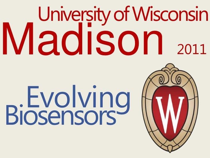 UW-Madison's 2011 iGEM presentation