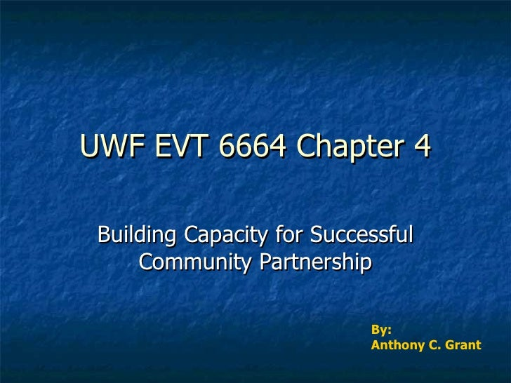 Uwf Evt 6664 Chapter 4 Powerpoint
