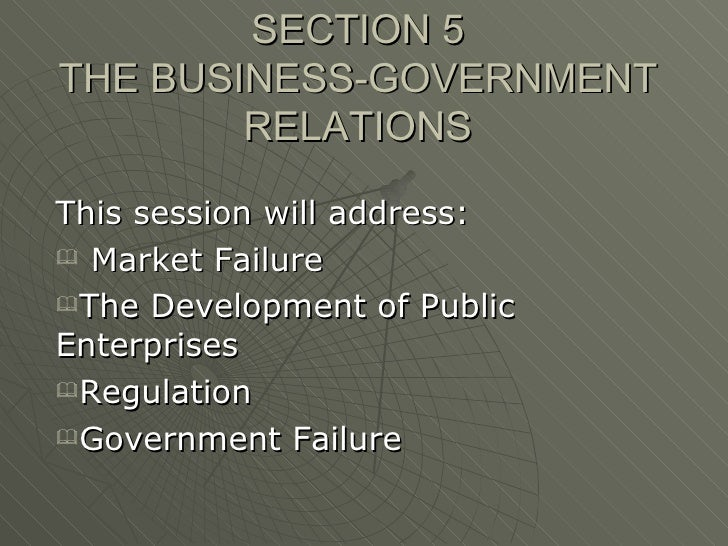 Uwi  Government And Business Relations2005summary