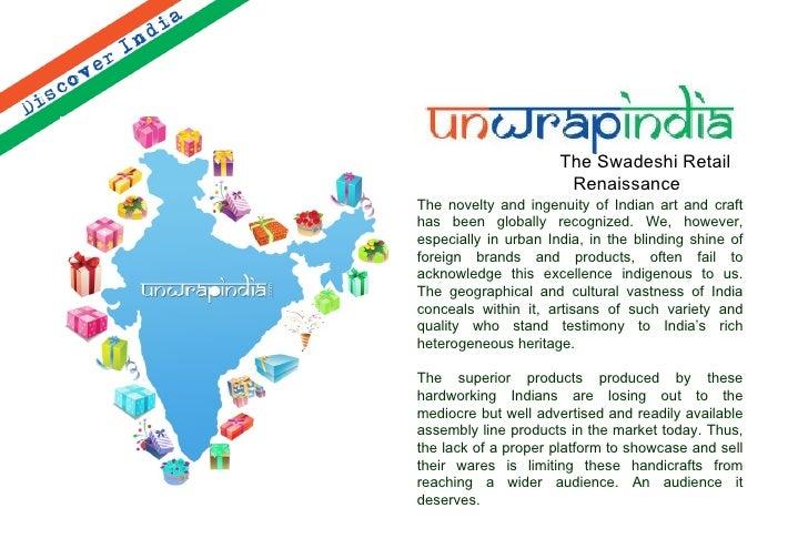 Unwrap India Corporate Catalogue