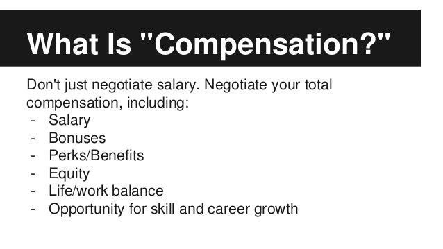 How to Negotiate Equity Compensation