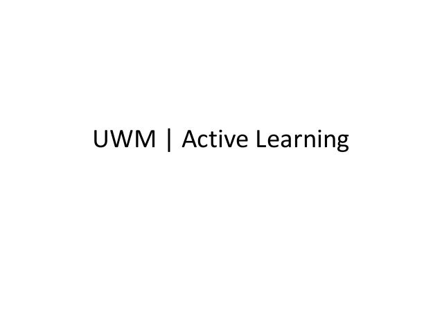 UWM Active Learning, Campus Showcase: UWS Roadmap Summit Lighnting Round