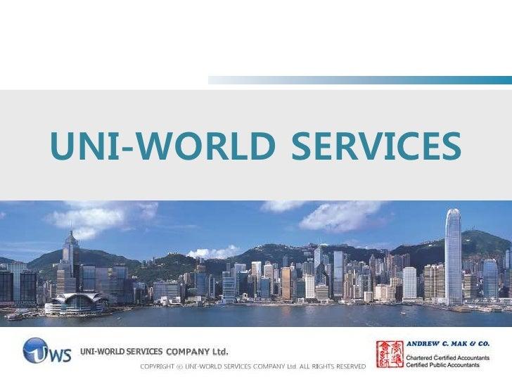 Uni-World Service Co.