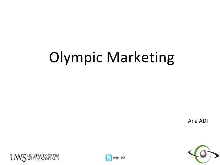 Olympic Marketing Ana ADI
