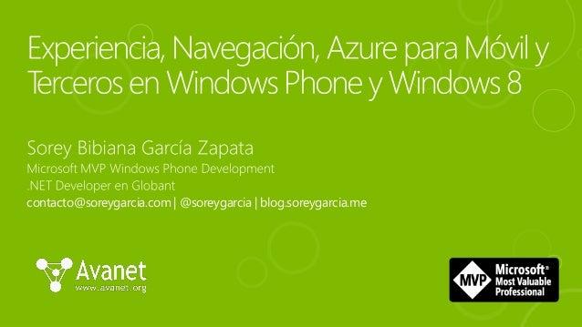 contacto@soreygarcia.com | @soreygarcia | blog.soreygarcia.me