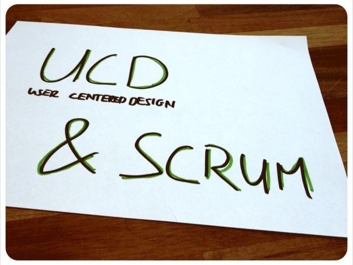 UX & Agile vs UCD & SCRUM