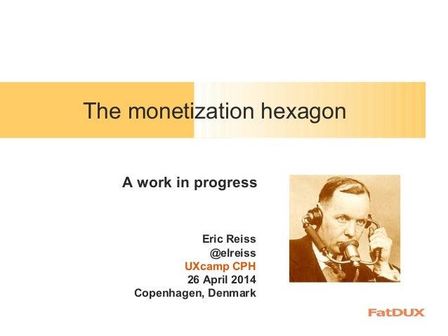 The monetization hexagon
