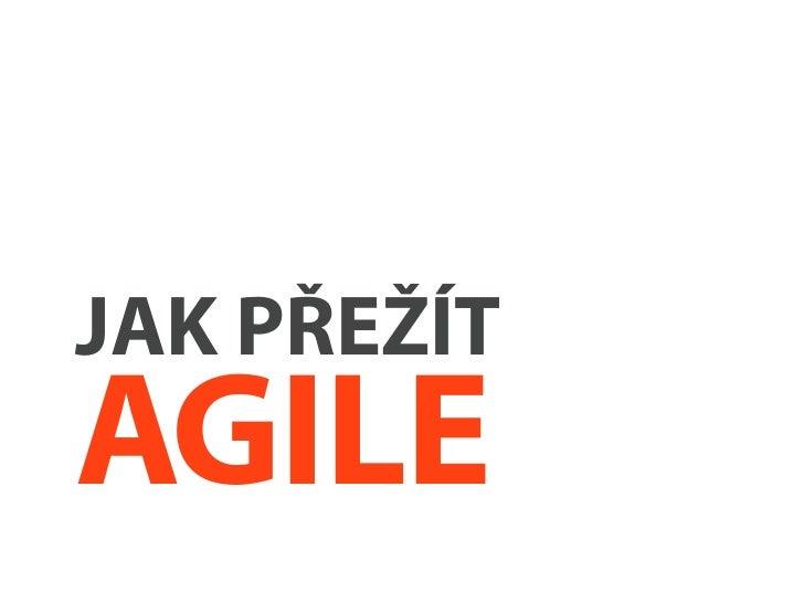 Jak na agilní UX