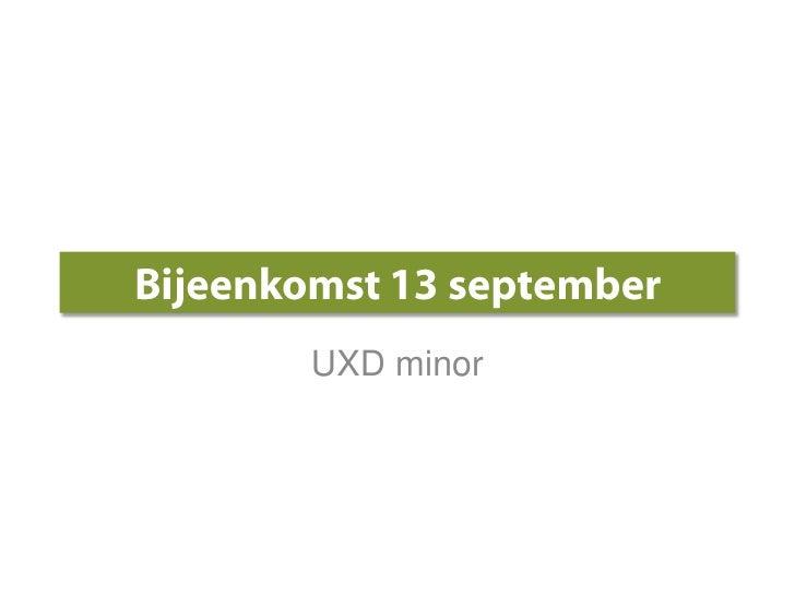 Uxd blog workshop