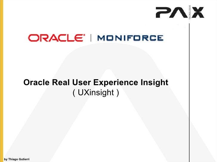 Oracle - UXinsight