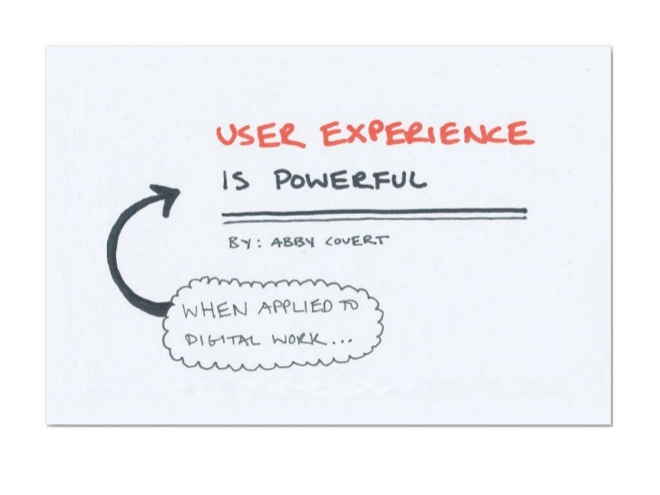User Experience is Powerful