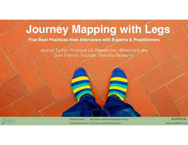 Journey maps with legs best practices hot tips for for Consul best practices
