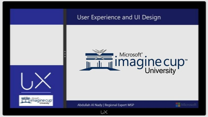 Introduction into User Experience