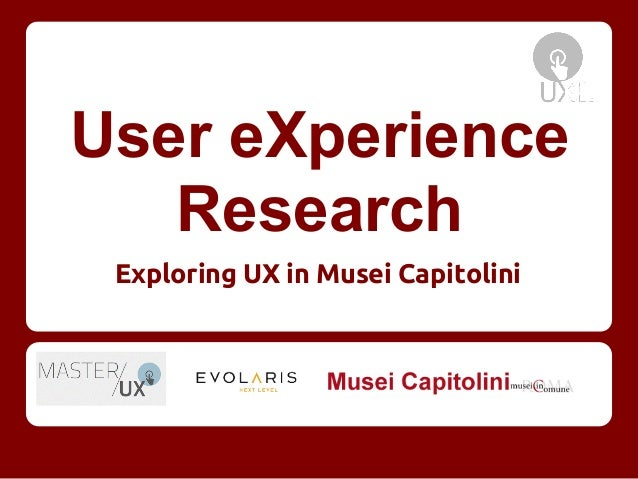 Ux research evolaris