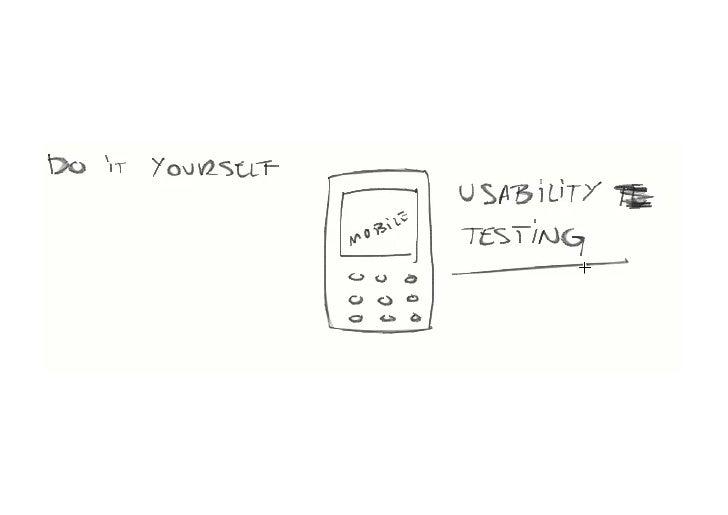 UX Sofia 2012 - DIY Mobile Usability Testing Workshop