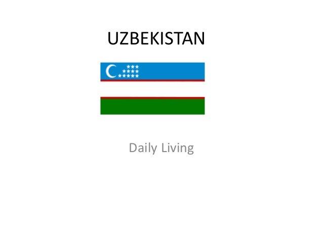 UZBEKISTAN  Daily Living